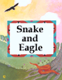 Snake and Eagle bookcover.