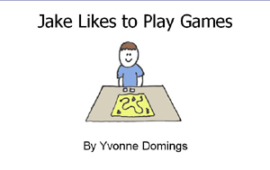 cover of Jake Likes to Play Games