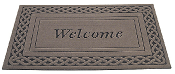 a welcome doormat