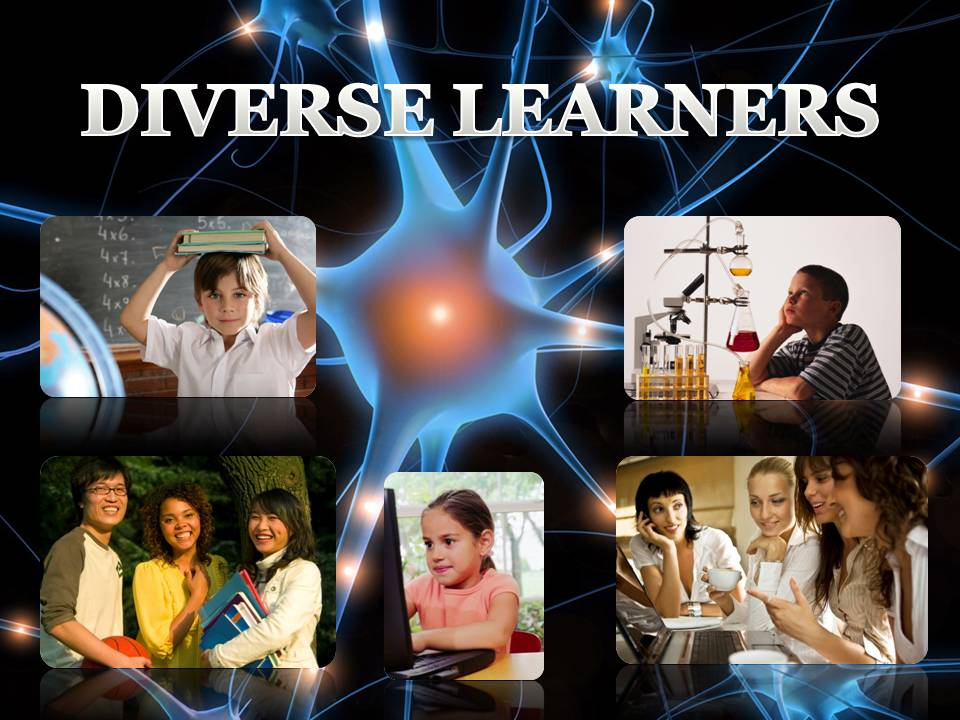 a collection of photos of diverse learners