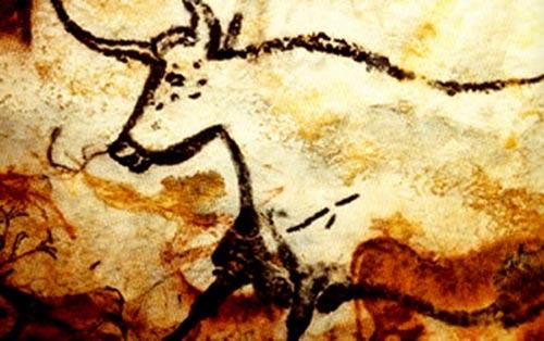 Pintura nas Cavernas em Lascaux, França