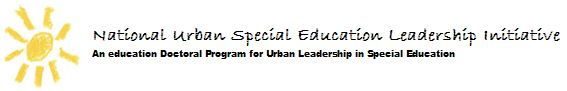 Logo for the National Urban Special Education Leadership Initiative