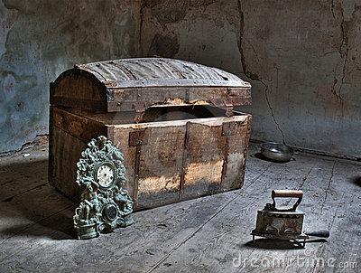O sótão da avó Jacinta